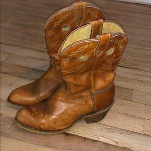 Vintage Acme Buckaroo Cowgirl Boots